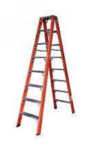 escada de fibra 6m