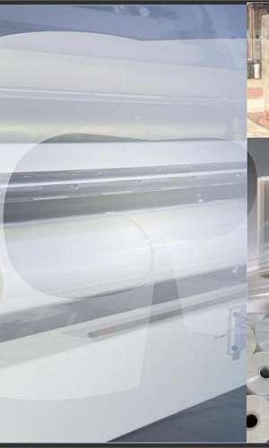 Filme plástico transparente