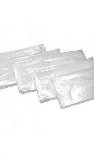 Saco plástico transparente