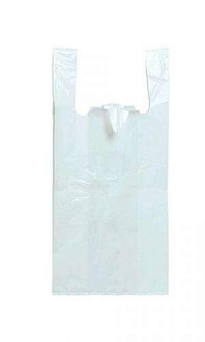 Sacola plástica branca