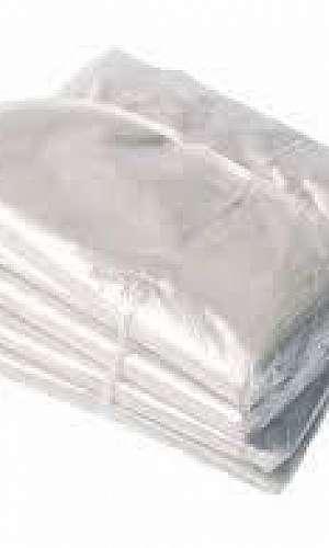 sacos transparentes